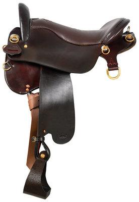Tucker Endurance Trail Saddle, Wide