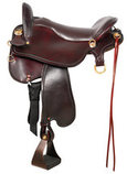 Tucker Endurance Trail Saddle with Tooling, Wide
