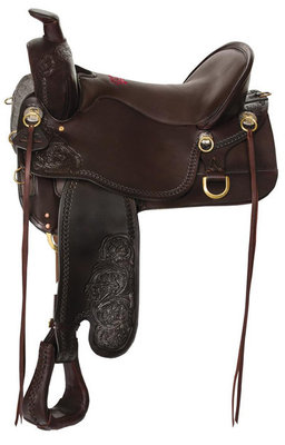 Tucker High Plains Smooth Trail Saddle, Wide