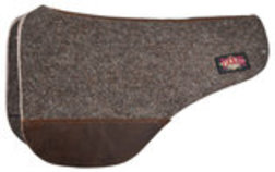 Tucker Wool Felt Round Skirt Saddle Pad