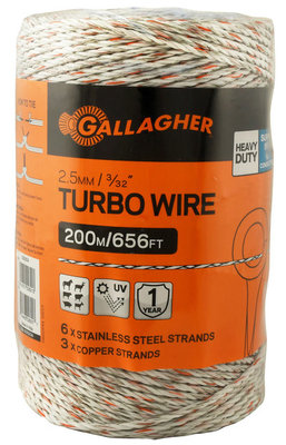 Turbo Wire, 1312 ft