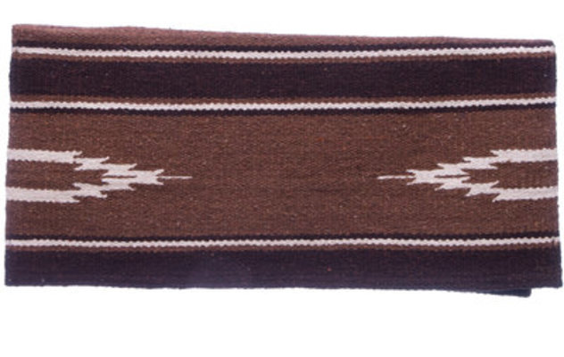 "Turn Two Navajo Saddle Blanket, 34"" x 36"""