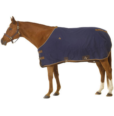 Turn Two Quarter Horse 1200D Medium Blanket, Navy