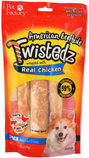 "Twistedz Large (7"") Beefhide Rolls Wrapped with Real Meat, 3-pk"