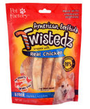 "Twistedz 5"" Beefhide Chip Rolls Wrapped with Real Meat, 8-pk"