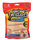 "Twistedz 4"" Beefhide Rolls Wrapped with Real Meat, 4-pk"