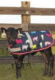 Udderly Colorful Calf Blanket
