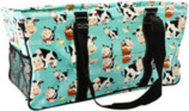 Udderly Cute Cows Collapsible Haul-It-All Basket