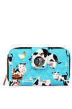Udderly Cute Cows Quilted Wallet