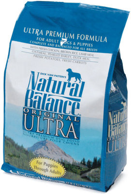 NB Ultra Premium Dry Dog Food, 15 lb