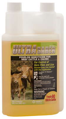 UltraSaber Pour-On Insecticide