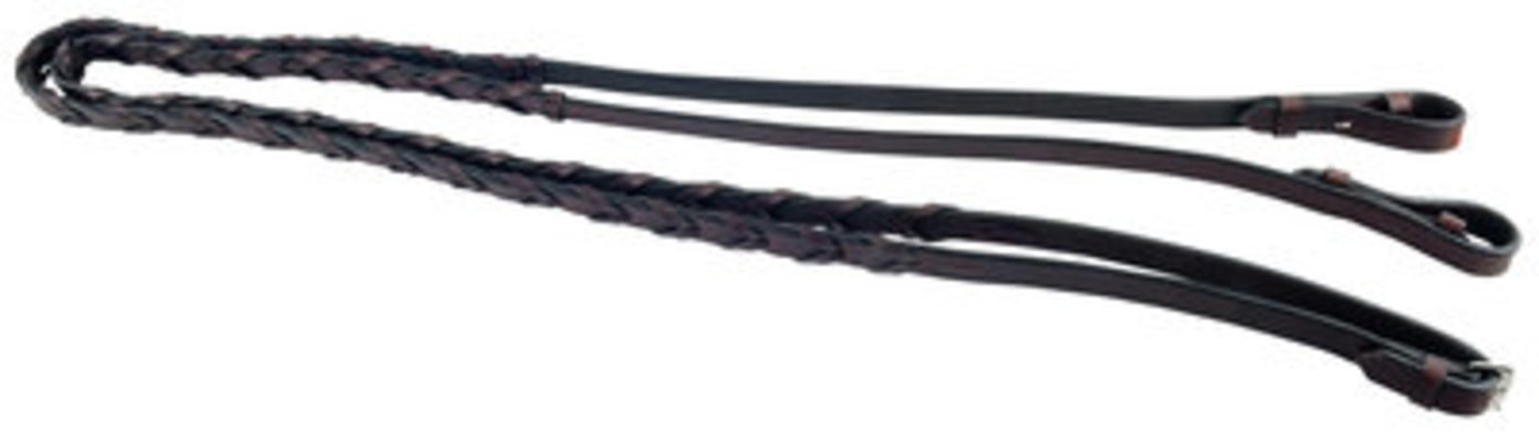 Uniquely English Laced Reins