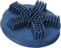 Velvet Soft-Touch Rubber Grooming Brush