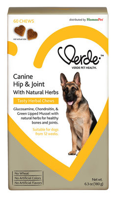 Verde Canine Hip & Joint Tasty Herbal Chews