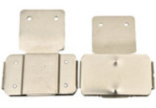 Vertical Metal Blevins Buckles (pair)