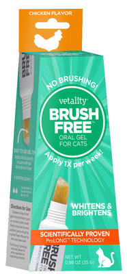 Vetality Brush Free Gel for Cats