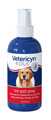 Vetericyn Plus Hot Spot Spray, 8 oz