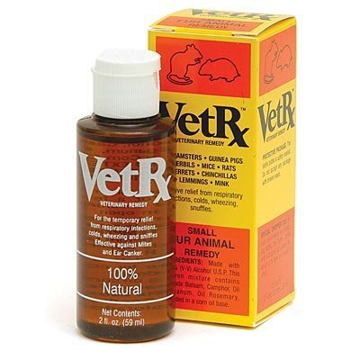 VetRx Respiratory Relief for Small (Furry) Animals, 2 oz