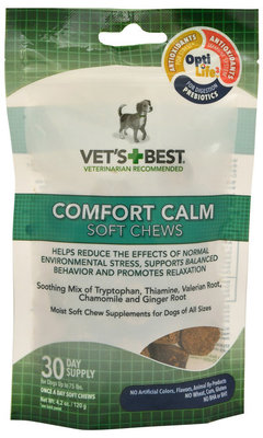 Vets+Best Comfort Calm Soft Chews for Dogs