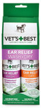 Vet's Best Ear Relief Wash & Dry Combo Kit