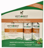 Vets+Best Flea & Tick Total Protection Kit