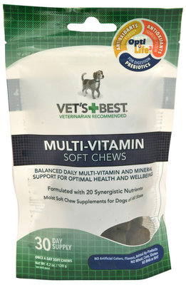 Vet's Best Multi-Vitamin Soft Chews for Dogs