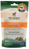 Vets+Best Skin & Coat Soft Chew for Dogs