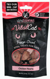 Vital Cat Freeze-Dried Chicken Hearts Cat Treats