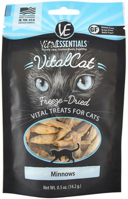 Vital Cat Freeze-Dried Minnows Cat Treats