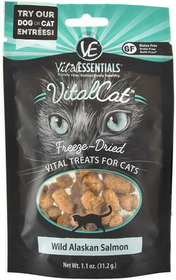 Vital Cat Freeze-Dried Wild Alaskan Salmon Cat Treats