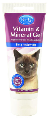 Vitamin & Mineral Gel for Cats
