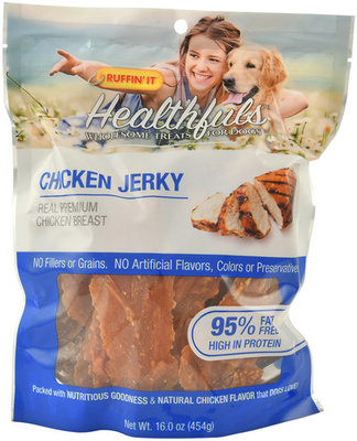 Healthfuls Real Meat Jerky by Ruffin' It, 16 oz