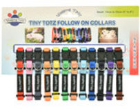 Wagging Tailz Tiny Totz Follow On Collars, Standard