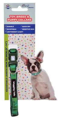 Wagging Tailz miniZ Camouflage Collection Collars, Large