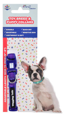Wagging Tailz miniZ Camouflage Collection Collars, Small