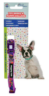 Wagging Tailz miniZ Spring/Summer Collection Collars, Large
