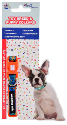 Wagging Tailz miniZ Spring/Summer Collection Collars, Small