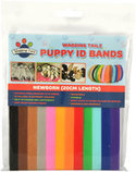 Wagging Tailz Puppy ID Bands (Standard Range) 12-pack