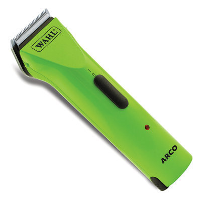 Wahl Arco Cordless Adjustable Blade Clipper, Green Apple