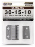 Wahl Adjustable (30-15-10) Blade Set