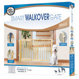 Walkover Wood Gate With Door