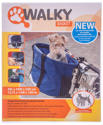 Walky Basket Pet Bicycle Basket (& Accessories)