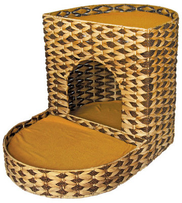 2 Tier Water Hyacinth Cat Bed