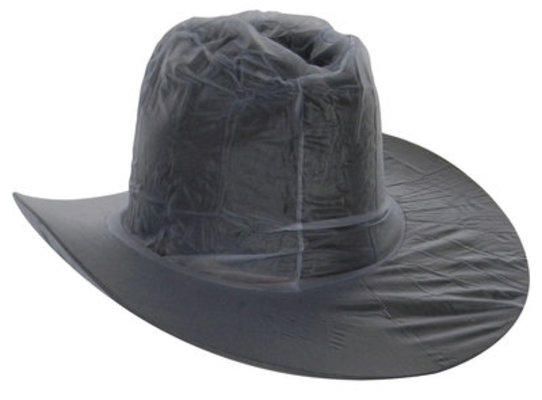 Clear Waterproof Western Hat Cover