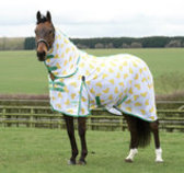 "WeatherBeeta ComFITec ""Chick Print"" Essential Combo Neck Fly Sheet"