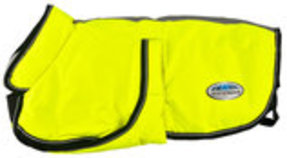 WeatherBeeta Reflective Parka 300d Deluxe Dog Coat, Bright Yellow