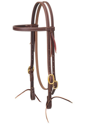 Weaver Leather Working Cowboy Browband Headstall