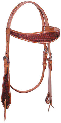 Wichita Basketweave Headstall