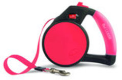 Wigzi Gel Leash, Retractable Tape Leash, Small