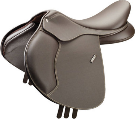 Wintec 500 Jump Saddle, Flocked